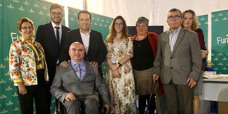La Fundación Caja Rural Castilla-La Mancha, en la II Feria de Accesibilidad de Campo de Criptana