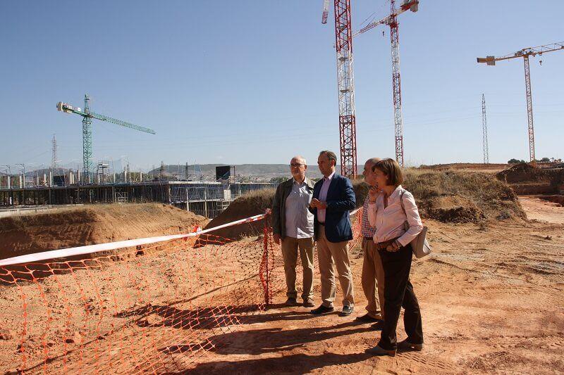 Las obras del Hospital de Cuenca avanzan según el cronograma previsto por el Gobierno de Castilla-La Mancha