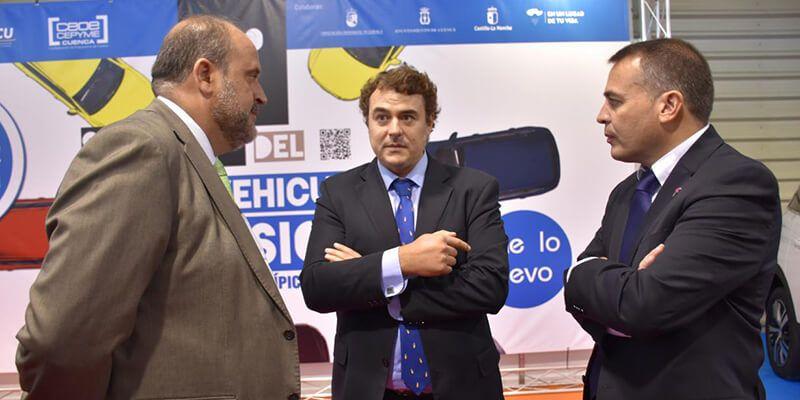 Martínez Guijarro destaca la buena evolución de la economía regional y su reflejo en el sector automovilístico