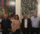 Marta Segarra inaugura la exposición de Carlos Inda dentro del ciclo 'Días de Arte'