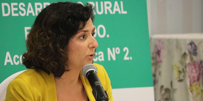 Orlena de Miguel cree fundamental romper la brecha digital en el entorno rural para afrontar el problema de la despoblación