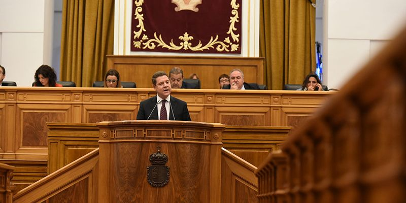 Page reclamará al Estado la deuda histórica que representa el trasvase Tajo-Segura para Castilla-La Mancha