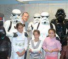 Personajes de La Guerra de las Galaxias compartieron la mañana de sábado con pacientes, trabajadores y usuarios del Hospital de Guadalajara