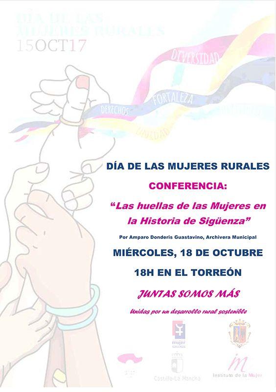 Sigüenza celebra el Día Internacional de las Mujeres Rurales