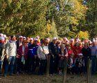 Un total de 170 mayores de Guadalajara participan en la ruta senderista del Barranco de la Hoz