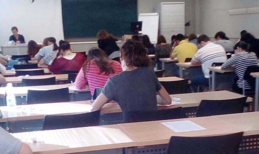 Un total de 684 personas se examinan en Cuenca de la oferta de empleo público de Administración General convocada por el Gobierno regional