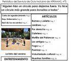 """Vuelve el periódico """"A Gritos"""" de la Asociación AFRAMAS"""