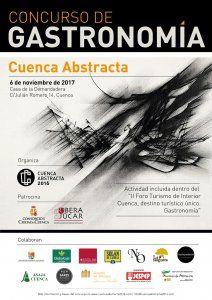 """Cuenca Abstracta organiza el II Foro Turismo de Interior """"Cuenca, destino turístico único"""", destinado este año a la gastronomía"""