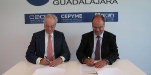 gas natural castilla-la mancha y ceoe-cepyme guadalajara renuevan su colaboración