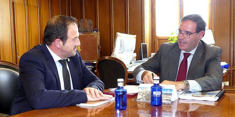 Los presidentes de las Diputaciones de Cuenca y Teruel subrayan sus intereses comunes contra la despoblación