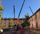 Comienza la rehabilitación de la Real Fábrica de Paños de Brihuega para la que se destinarán 800.000 euros