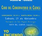 Concierto y Santa Misa cantada del Coro del Conservatorio de Cuenca a favor de Manos Unidas