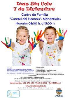 El Ayuntamiento de Guadalajara pone en marcha el programa Días sin Cole para la jornada no lectiva del 7 de diciembre