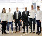 """El programa """"Podium"""" de Telefónica renueva su beca a cuatro deportistas castellano-manchegos"""