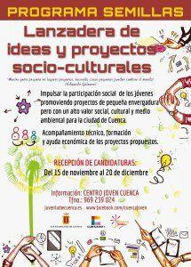 El Servicio de Juventud del Ayuntamiento de Cuenca organiza el primer Programa Semillas-Lanzadera