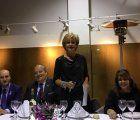 La Asociación Española contra el Cáncer de El Casar (AECC) celebró el pasado viernes,17 de noviembre, su tradicional cena benéfica