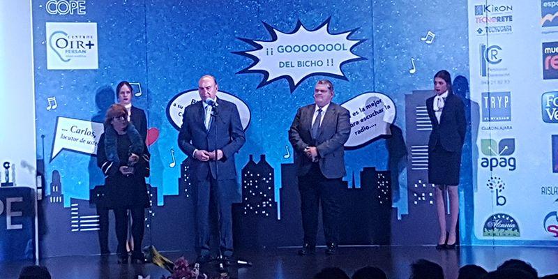 La Cadena COPE premia a la Diputación por su labor de promoción del Geoparque de Molina-Alto Tajo