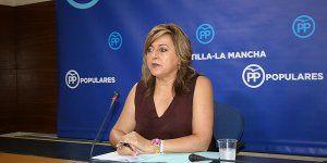 La diputada regional del PP exige a Page que invierta los 160 millones de euros que reclama la UCLM
