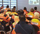 La Junta imparte formación a voluntarios de 12 agrupaciones de protección Civil de Guadalajara sobre el uso de desfibriladores