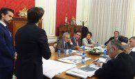 El Consorcio de Cuenca conoce el proyecto de rehabilitación de las Casas Colgadas y la propuesta de accesibilidad al Casco Antiguo