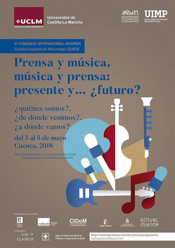 Periodistas musicales, musicólogos e investigadores se darán cita en Cuenca en el VI Concreso Internacional sobre Música y Prensa