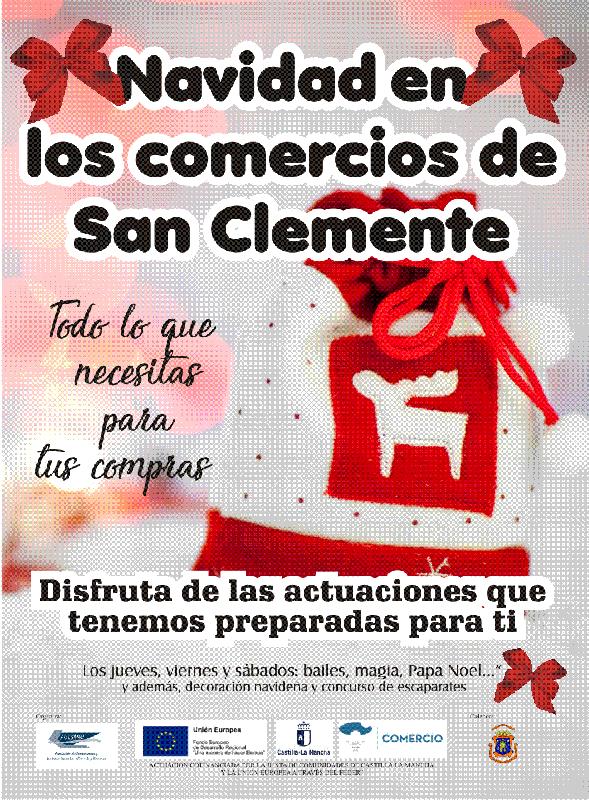 ACESANC y los comercios de San Clemente promueven actuaciones para dinamizar el sector por Navidad