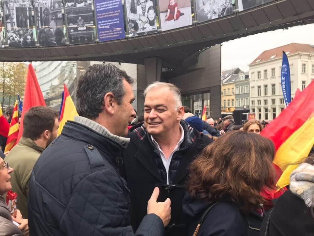 Antonio Román homenajea a la Constitución de España en Bruselas