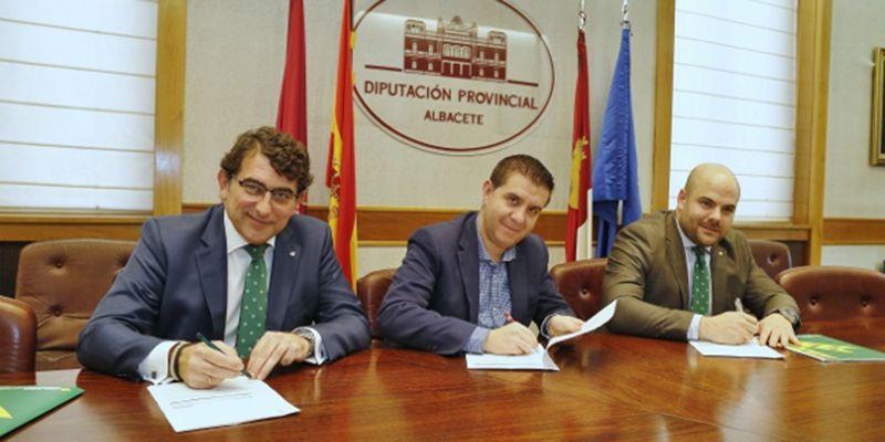 Caja Rural CLM suscribe una operación de tesorería de 22 millones de euros con la Diputación Provincial de Albacete