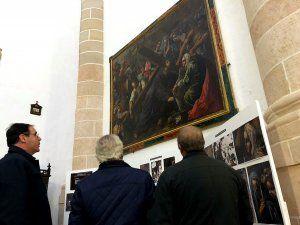 Diputación de Cuenca devuelve a La Ventosa un cuadro del siglo XVII tras su restauración durante más de un año y medio