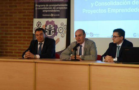 Diputación de Guadalajara facilita asesoramiento personalizado a otros 23 proyectos emprendedores de la provincia