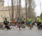 El Club Canicross celebra con gran acogida el I Canitrail de Trillo
