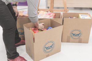 El Colegio de Enfermería de Guadalajara recoge más de 130 kilos  de alimentos para ayudar a familias desfavorecidas