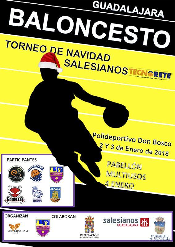 El mejor baloncesto de cantera vuelve a Guadalajara de la mano del CD Salesianos y su Torneo de Navidad