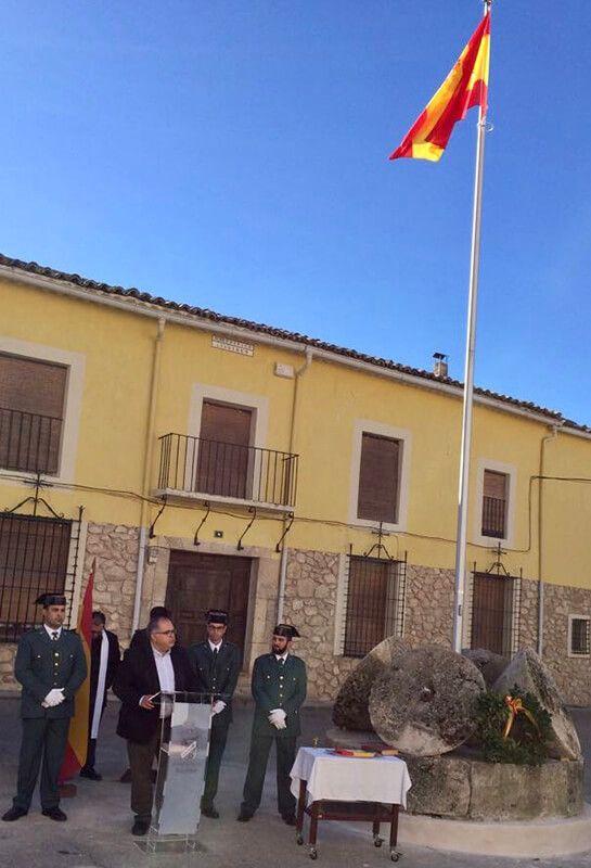 El pueblo de Illana celebra el 39 aniversario de la Constitución Española