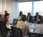 El SESCAM analiza junto a representantes de la Asociación Española Contra el Cáncer el desarrollo del Programa de Cribado de Cáncer de Colon