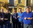 El subdelegado del Gobierno en Guadalajara, Juan Pablo Sánchez, visita la localidad de Romanones