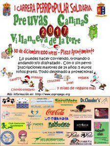 I Carrera Perripopular Solidaria el próximo 30 en Villanueva de la Torre