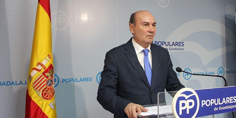 """José Manuel Latre lo tiene claro """"Page ha vuelto a dar la espalda a Guadalajara y a demostrar que esta provincia le importa muy poco"""""""