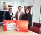 La Asociación de Donantes de Sangre de Guadalajara mejora su gestión gracias a un nuevo equipo informático donado por Factor Cinco