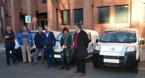La Junta entrega cuatro vehículos a otras tantas Oficinas Comarcales Agrarias de la provincia de Guadalajara