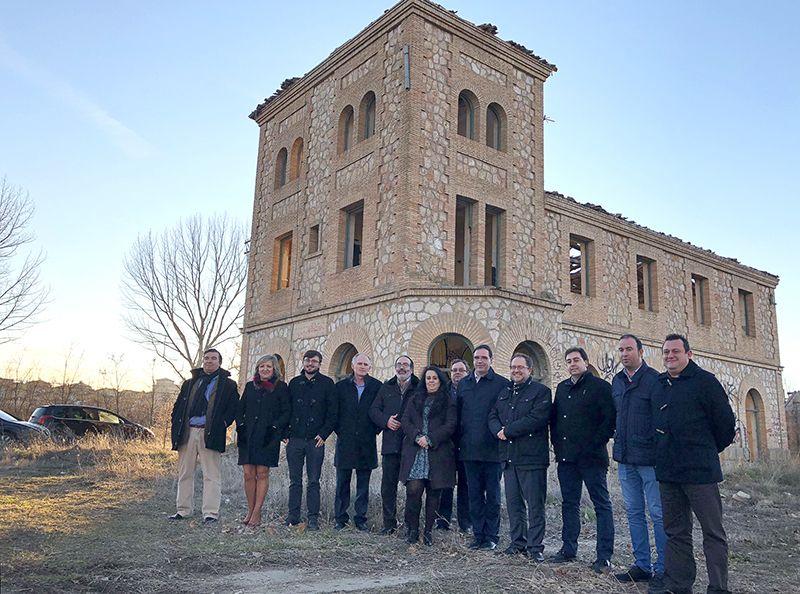 Prieto ve en Adif un aliado en el proyecto de Diputación para la revitalización de la zona de la línea férrea Cuenca-Utiel