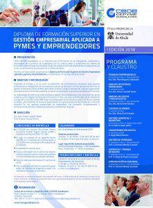 CEOE Guadalajara presenta el curso de gestión empresarial aplicada a pymes y emprendedores