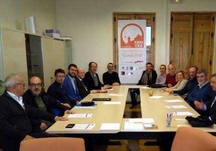 Una representación del Comité Científico del XXIII CEA se reúne en Cuenca