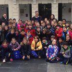 Alumnos del colegio Salesianos visitan el Ayuntamiento de Guadalajara