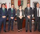 Caja Rural Castilla-La Mancha visita el Ayuntamiento de Camarena