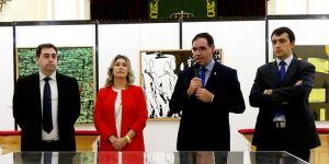 Diputación de Cuenca abre sus puertas a 32 años del Certamen de Artes Plásticas del IES Fernando Zóbel