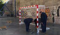 El Ayuntamiento de Cuenca instala cuatro porterías nuevas en el Polideportivo y en el Colegio San Fernando