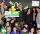 El CEIP Badiel de Guadalajara recibe el premio del mes de diciembre de la Liga Peque Recicladores