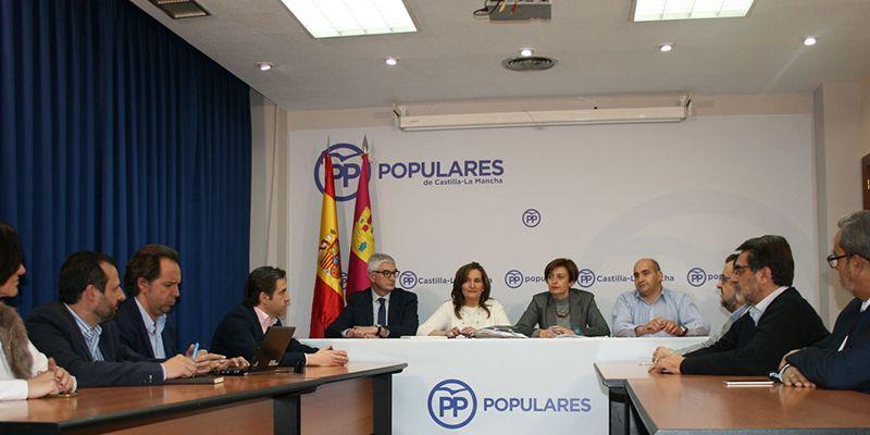 El PP denuncia las malas condiciones laborales y la situación extrema de los empleados públicos de la Sanidad de Page