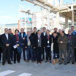 El Secretario General de UGT visita la planta de BASF en Marchamalo